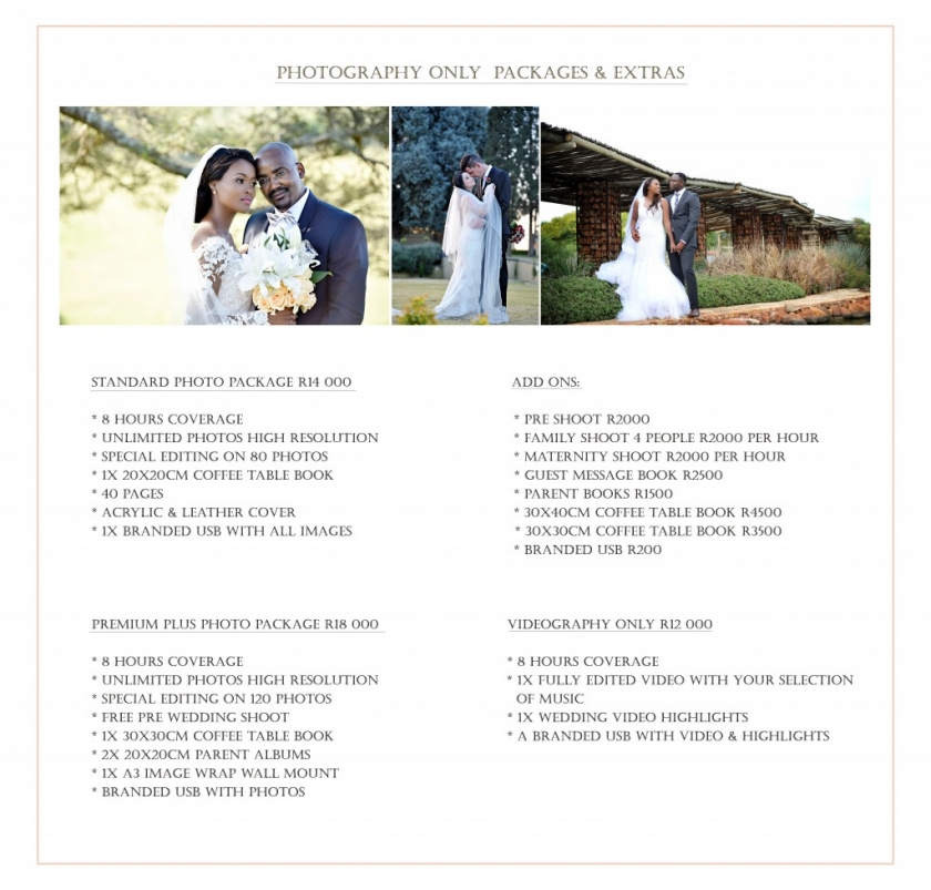 PHOTO PACKAGES